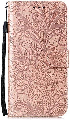 Hoesje voor Moto G StylusG Pro Wallet Book Case Magneet Flip Wallet met Kaarthouders slots Robuuste schokbestendige Bookcase voor G StylusG ProJEEB021071 Rose goud