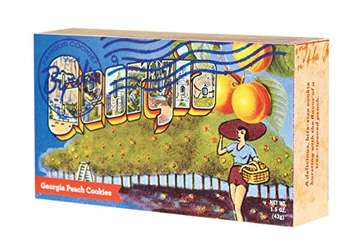Price comparison product image Byrds Famous Cookies Convenient Set of 3 Postcard 1.5 0z. Portion Packs From Savannahs Iconic Cookie Bakery - (Georgia Peach)