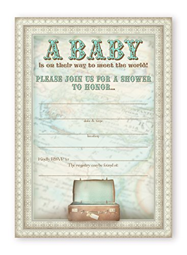 Classic Baby Shower Invitations - 9
