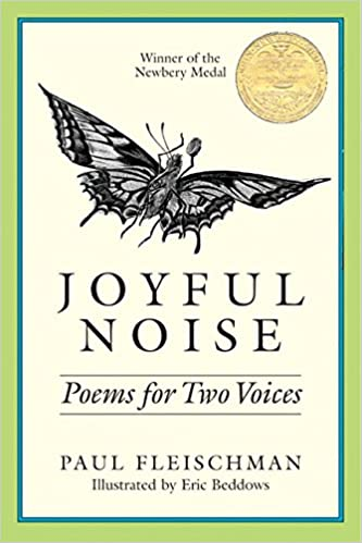 Image result for joyful noise poems for two voices