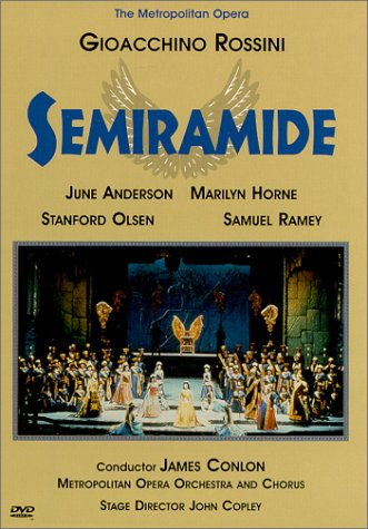 Rossini - Semiramide / Conlon, Anderson, Horne, Metropolitan Opera by Image Entertainment