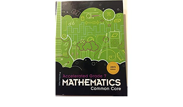 Prentice Hall Mathematics Common Core Accelerated Gr 7 Charles