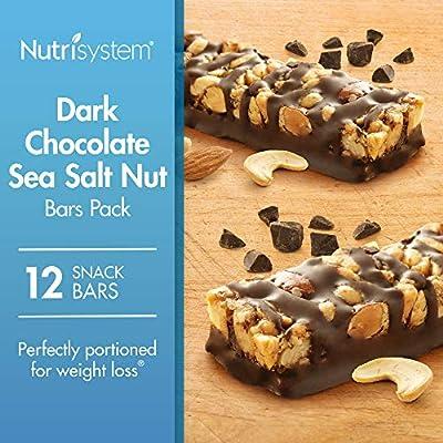 Nutrisystem® Dark Chocolate Sea Salt Nut Bars Pack, 12 Count Bars