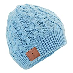 Don't let the cold weather cramp your style. The Tenergy Bluetooth Beanie will keep you warm while you listen to music or take phone calls wirelessly. Backwards compatible, and ready to use with any Bluetooth-enabled devices, including Apple ...