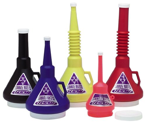 MSR Clean Funnel W/Screw on Cap 1-1/3 Quart 1.25 Liter