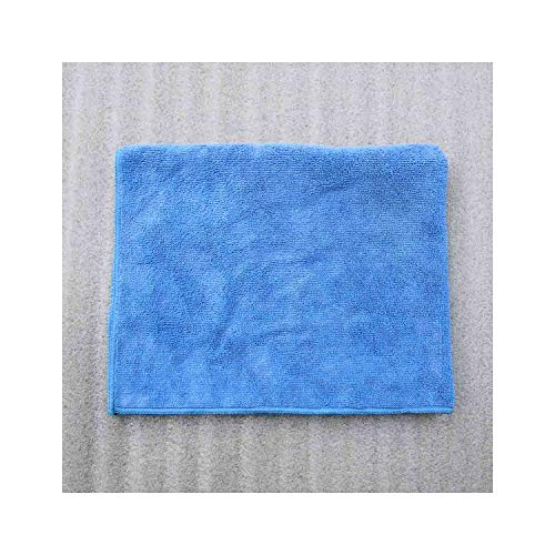 Microfiber Quick-Drying Towel for Dogs Puppies Products for Dogs Soft Warm Mat Bath Towel for Pet,Blue,50X60Cm ()