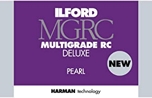 Ilford Multigrade V RC Deluxe Pearl Surface Black & White Photo Paper, 190gsm, 8x10, 100 Sheets
