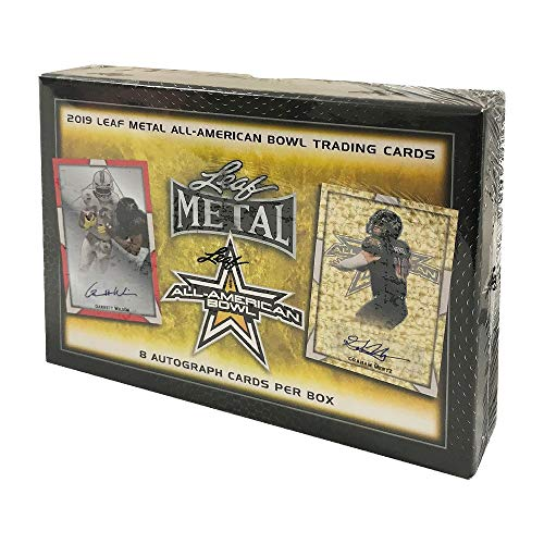2019 Leaf Metal All-American Bowl Football Hobby Box from Leaf Metal All-American Bowl Football
