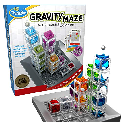 ThinkFun Gravity Maze Marble Run Logic Game and STEM...