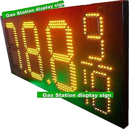 GOWE Shell Gas Station display sign 12'' 8889/10 USA LED Gas Price