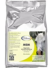 Makana MSM (Methylsulfonylmethan) für Tiere, 99,9% rein, 1000 g Beutel (1 x 1 kg)