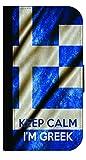 Keep Calm I%27m Greek Flag%2DTM Apple iP