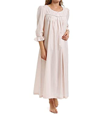 Thea Pomina Long Sleeve Gown (7042) at Amazon Women s Clothing store   Nightgowns 04e3cb981