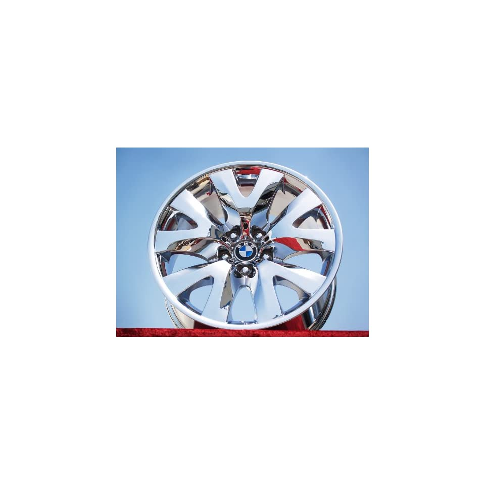 BMW 7 series Sport Style 126 Set of 4 genuine factory 19inch chrome wheels