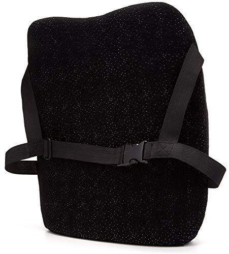 Xtreme Comforts Original Coccyx Orthopedic Memory Foam Seat Cushion with 100% Memory Foam Lumbar Cushion by Xtreme Comforts (Image #6)