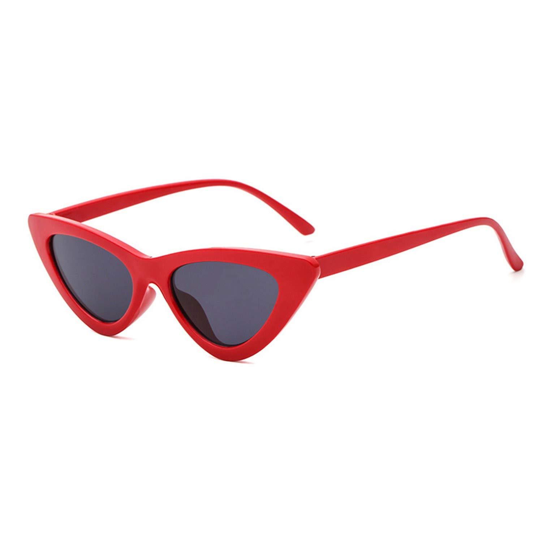 Amazon.com: Gafas de sol para mujer, estilo retro., talla ...