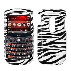 Black White Zebra Hard Case Cover for HTC Snap S521 S522