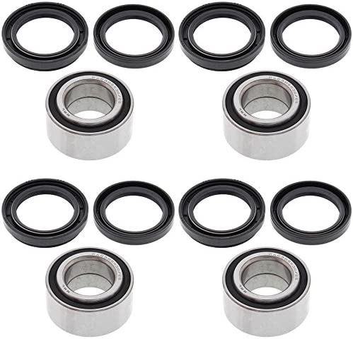 ALL BALLS Rear and Front Wheels Bearing Kits for Arctic Cat 300 4x4 1998-2004