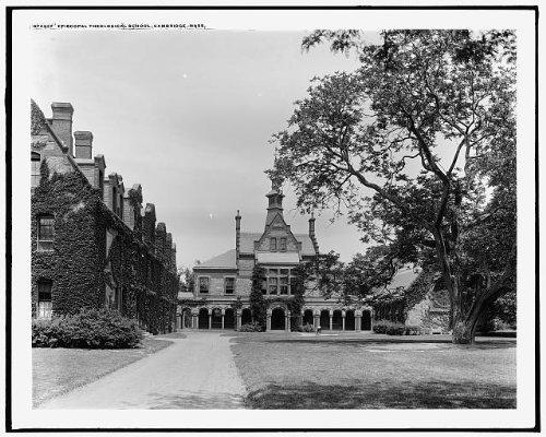 Photo: Episcopal Theological - Cambridge Ma Frames A Street