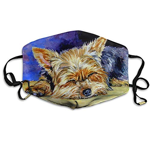 Unisex Cute Yorkshire Terrier Anti Pollution Flu Masks Mouth Face Mask]()