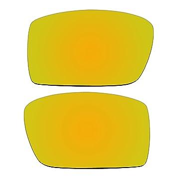 Repuesto oro lentes polarizadas para Oakley Gascan gafas de sol