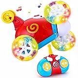 Joyin Toy RC Radio Remote Control Cartoon Stunt Race Car for Toddlers