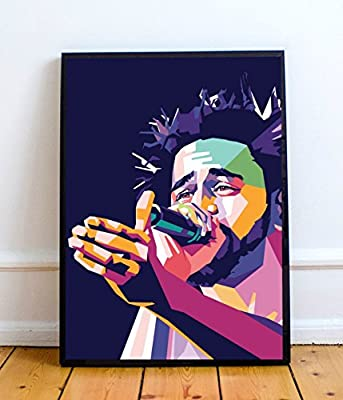 The Den J. Cole Limited Poster Artwork - Professional Wall Art Merchandise (More
