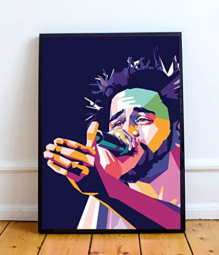 J. Cole Limited Poster Artwork (8x10) (More Sizes Available)
