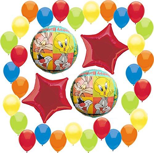 Looney Tunes Happy Birthday Deluxe Balloon Decoration Bundle