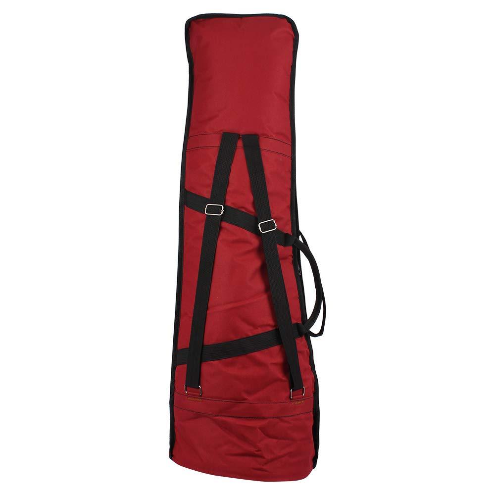Yiwa Alto/Tenor Trombone Storage Bag Oxford Cloth Carry Bag Shoulder Bag Musical Instrument Case Accessory