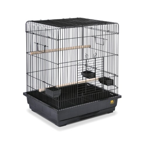 Prevue Pet Products Square Roof Parrot Cage,