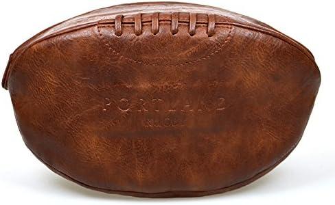 Portland - Neceser para hombre con forma de pelota de rugby de ...