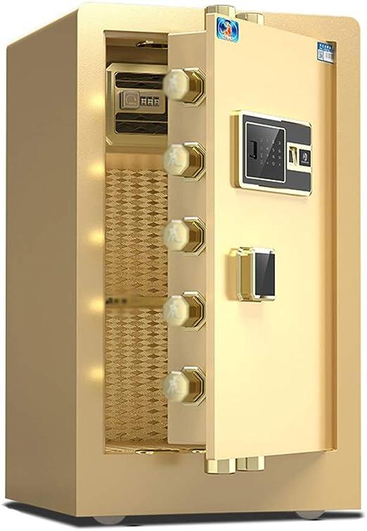 Convencionales Cajas Fuertes Caja Fuerte electrónica for el hogar con Caja de depósito pequeña Invisible de tamaño Medio Oficina con Huella Digital antirrobo pequeña Cajas Fuertes: Amazon.es: Hogar