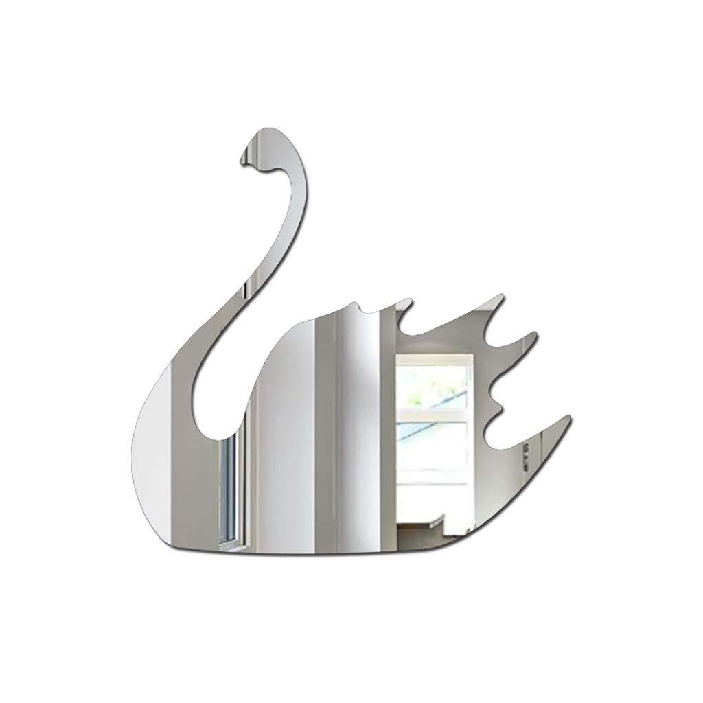 HANANei Acrylic Mirror, Nordic Acrylic Mirror Cartoon Wall Camera Props Kids Room Wall Decoration (I)