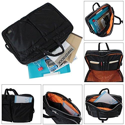 f5b874018646 Amazon.com  Porter Tanker   3way Briefcase 07460 Black   Yoshida Bag   Office Products