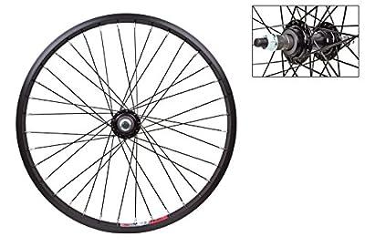 Wheel Master Rear Bicycle Wheel 20 x 1.75 36H, Alloy, Bolt On, Black