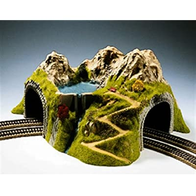 Noch 5180 Tunnel Dbl Carved 23Cm High H0 Scale Model Kit: Toys & Games