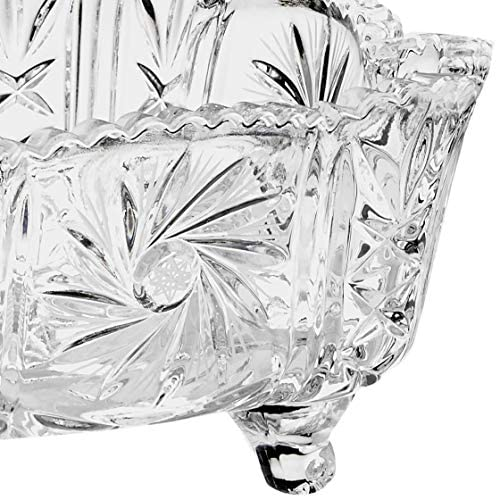 lead crystal 3983 15.5/x 5.5/cm Crystaljulia bowl modern transparent