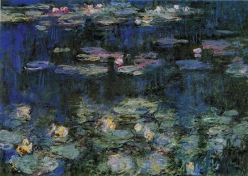 Wentworth Waterlilies 250 Piece Wooden Claude Monet Jigsaw Puzzle