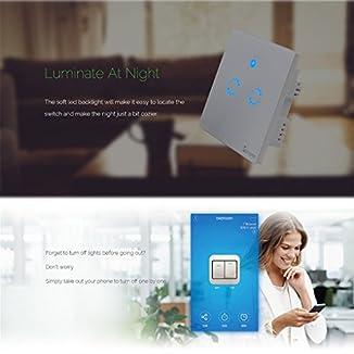 T1 EU Smart WiFi Touch – Interruptor inteligente Wifi