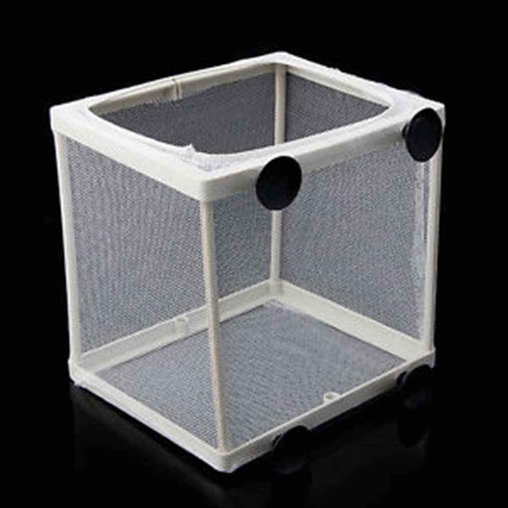 Xeminor Aquarium Fish Tank Guppy Breeding Breeder Fish Baby Gauze Trap Box Isolator Comfortable and Environmentally