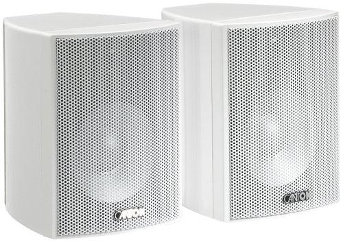 Canton Plus MX.2 2-Wege Regallautsprecher (40/70 Watt, 85 dB) Paar weiß