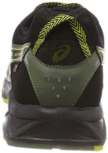 Asics Hommes Piste Gel Sonoma 3 G-tx Chaussures De Course, Jaune Noir (ressort Soufre Quatre Trèfle Noir En Feuilles 8990)