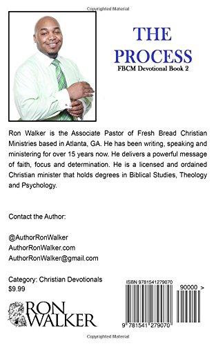 The Process: Fresh Bread Ministries 30 Day Devotional: Amazon ...