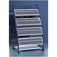 Popowbe Newspaper rack newspaper rack magazine rack display bookshelf