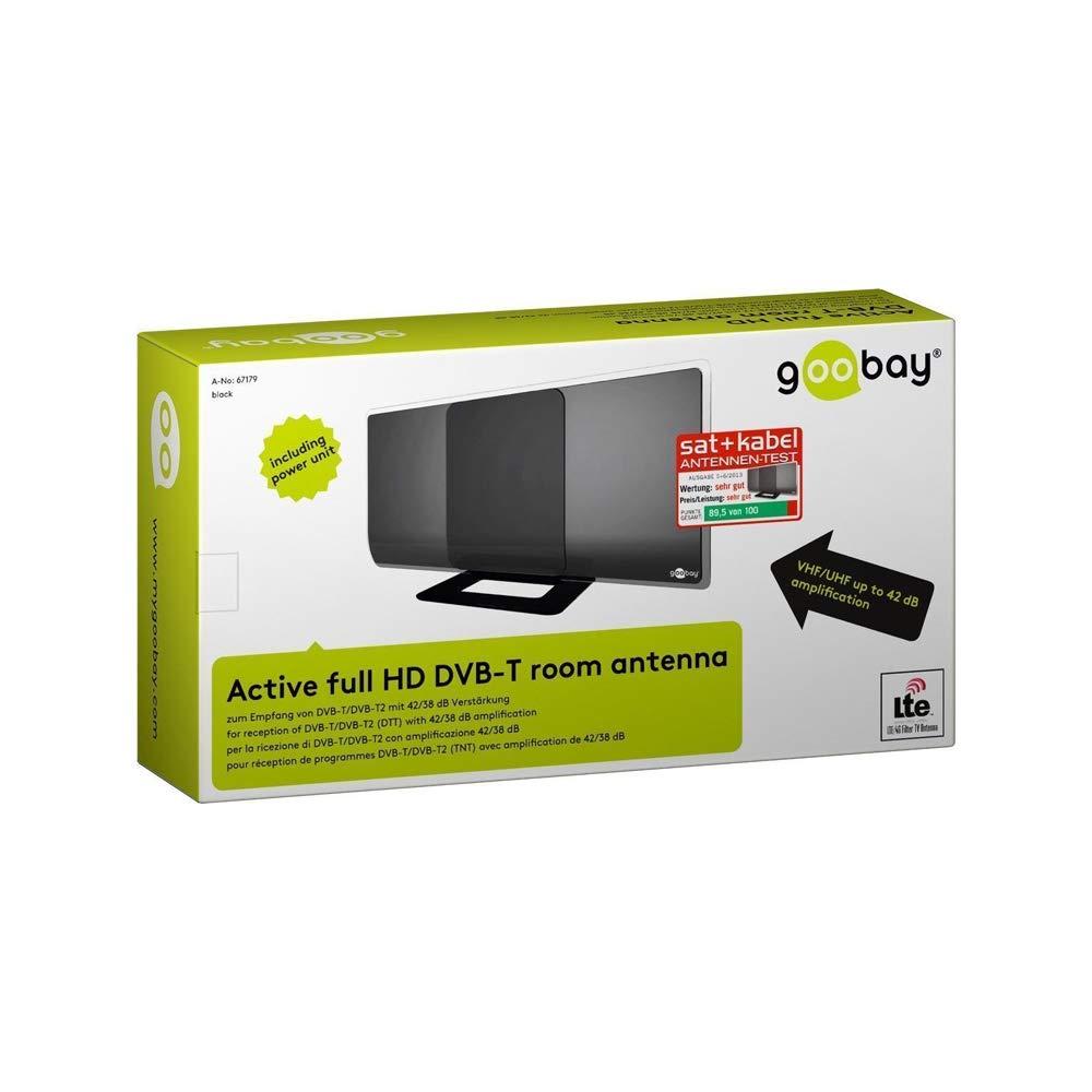 Amazon.com: goobay DIA 42 hp incl. power DVB-T Active Full ...