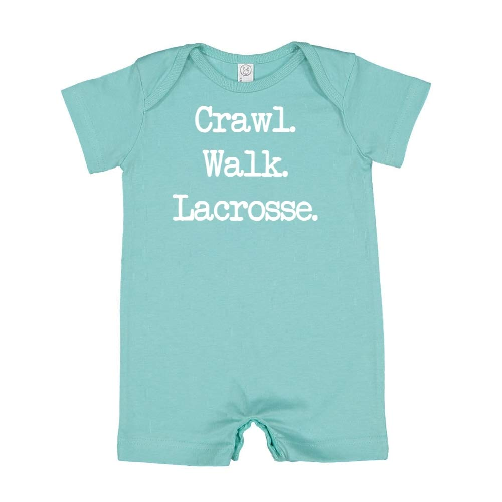 Walk Crawl - Baby Romper Lacrosse