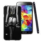 electronic 50 shades of grey - Galaxy S5 Case, Customized Black Soft Rubber TPU Samsung Galaxy S5 Case Fifty Shades of Grey - black bikini