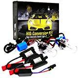 LED POST HIDKIT-9006-9012-HB4-6K 35W Xenon Conversion Replacement Upgrade Headlight Kit with Slim Premium DC Ballast (9006 9012 HB4 HID 6K 6000K)