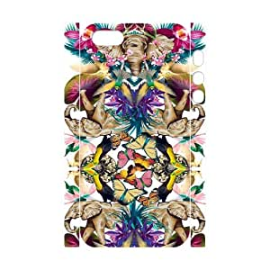 Iphone 5,5S Elephant flower 3D Art Print Design Phone Back Case Hard Shell Protection LK052781